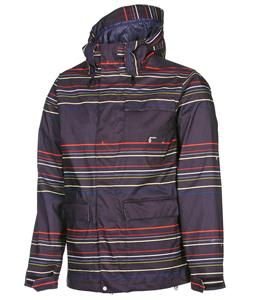 Volcom Tactic Snowboard Jacket Black Stripe