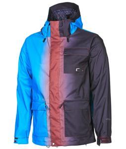 Volcom Tactic Snowboard Jacket Fade Maroon