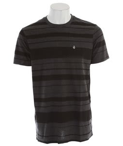 Volcom Tapered T-Shirt Heather Black