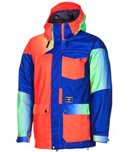 Volcom Tarik Insulated Snowboard Jacket Fade Blue