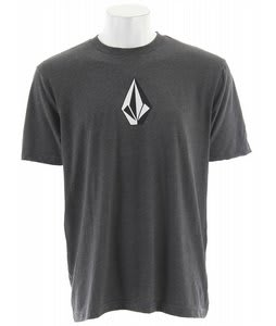 Volcom The Stone Three Heather T-Shirt Black Heather