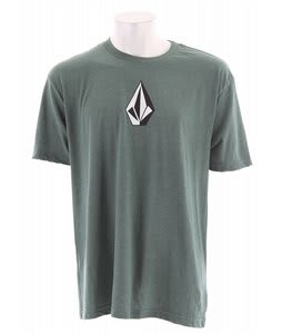 Volcom The Stone Three Heather T-Shirt Pine Heather