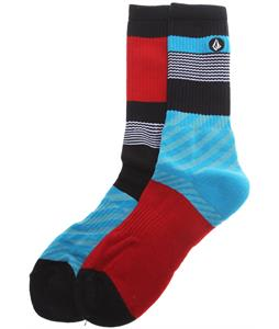 Volcom Town Socks Blue Black