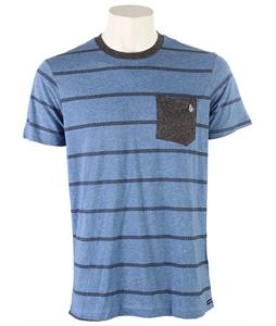 Volcom Trip Stripe Pocket T-Shirt Airforce Blue