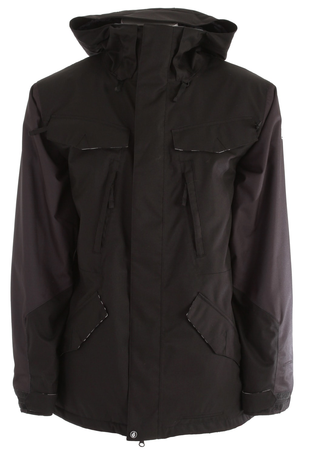 Shop for Volcom Union Snowboard Jacket Black - Men's
