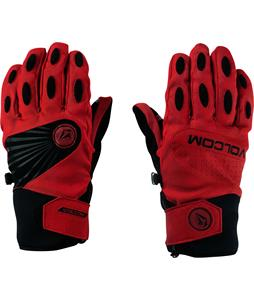Volcom USSTC Pipe Gloves Red