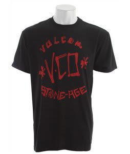 Volcom Vco Scribe T-Shirt Black