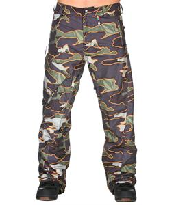 Volcom Ventral Snowboard Pants Military Camo