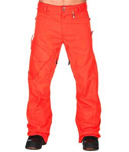 Volcom Ventral Snowboard Pants Orange