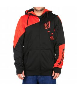 Volcom Vip Hydro Hoodie Black