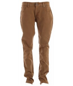 Volcom Vorta Jeans Brown Khaki