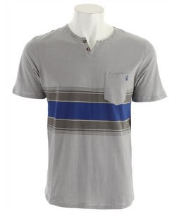 Volcom Wampum Henley Bold Blue