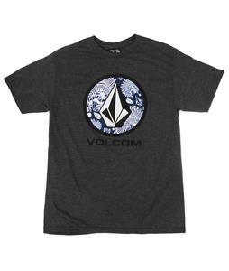 Volcom Wartime Lock Up T-Shirt Charcoal Heather