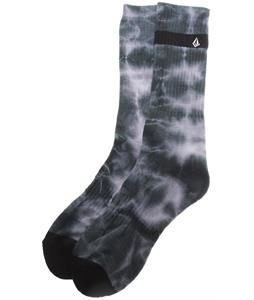 Volcom Weaver Socks Sulfur Black