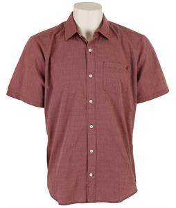 Volcom Weidoh Solid Shirt Burnt Sienna