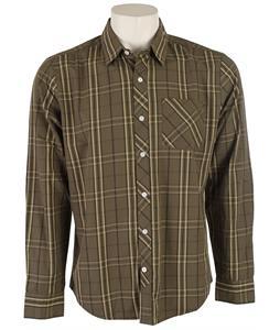 Volcom Weirdoh Plaid L/S Shirt Fatigue Green