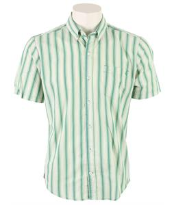Volcom Weirdoh Stripe Shirt Evergreen