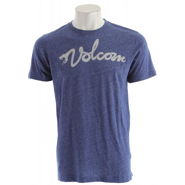 Volcom White Script T-Shirt