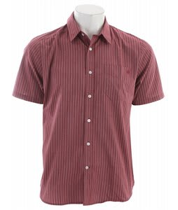 Volcom Why Factor Stripe Shirt Plum