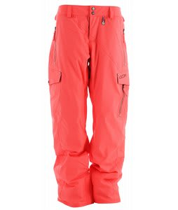 Volcom Wild Insulated Snowboard Pants Firecracker