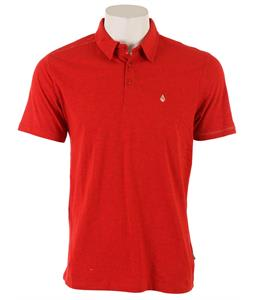 Volcom Wowzer Polo Scarlet Heather