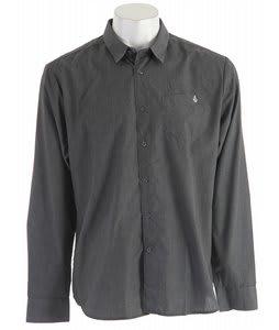 Volcom X-Factor Heather L/S Shirt Ebony