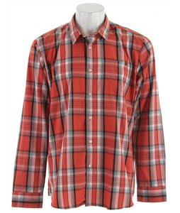 Volcom X Factor Plaid L/S Shirt Clay