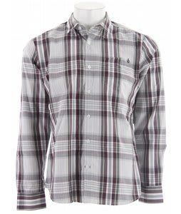 Volcom X Factor Plaid L/S Shirt Merlot