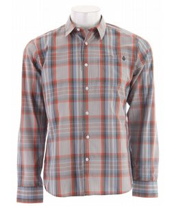 Volcom X Factor Plaid L/S Shirt Orange