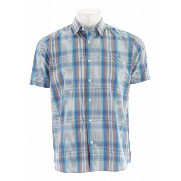 Volcom X Factor Plaid S/S Shirt
