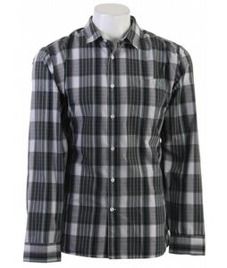 Volcom X Factor Plaid L/S Shirt Black