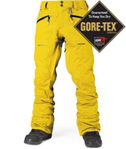 Volcom X-Type Gore-Tex Snowboard Pants Mustard
