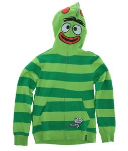 Volcom Yo Gabba Gabba Full Zip Hoodie Green