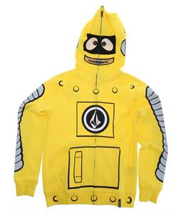 Volcom Yo Gabba Gabba Full Zip Hoodie Yellow