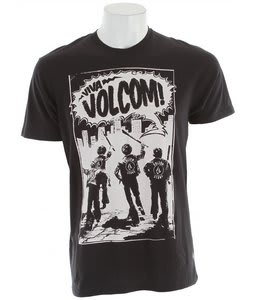 Volcom Youth Squad T-Shirt Black