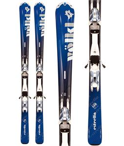Volkl Estrella Skis Blue w/ Attiva 3Motion 10.0 Bindings