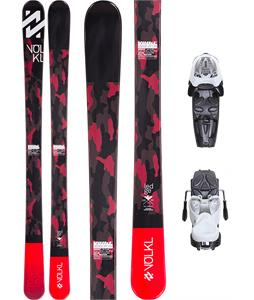 Volkl Ledge Jr Skis w/ M7.0 Jr Fastrak II Bindings