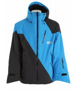 Volkl Lhotse Ski Jacket Black/Diva Blue