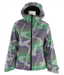 Volkl Manu Ski Jacket Butterfly Fern Green