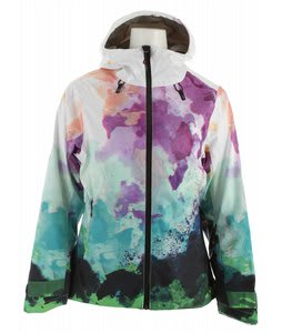 Volkl Manu Ski Jacket Watercolors Print
