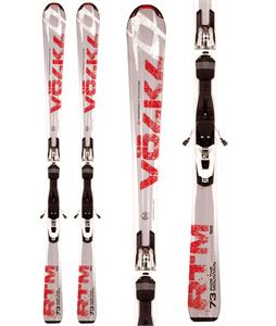 Volkl RTM 73 Skis w/ 3Motion TL 10.0 Bindings