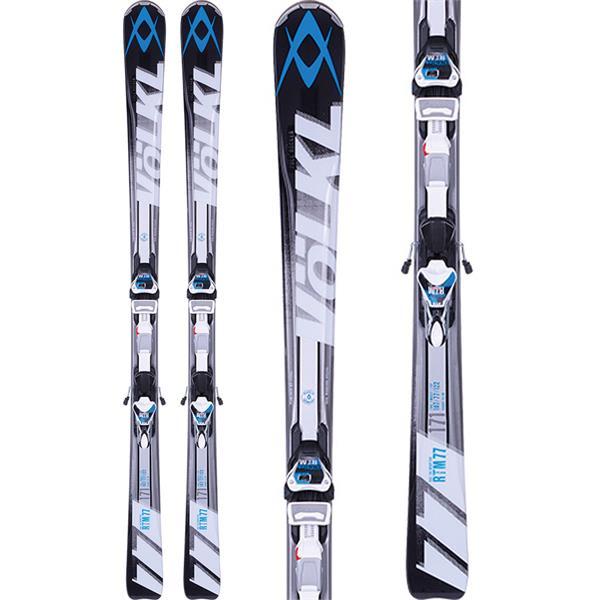 Volkl RTM 77 Skis w/ 4Motion 11.0 TC D Bindings