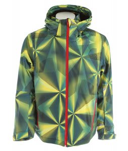 Volkl Silver Prism Ski Jacket Laser Color Yellow