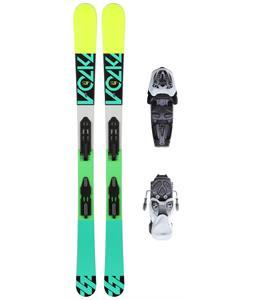 Volkl Step Jr. Skis w/ M7 Fastrak II Jr. Bindings