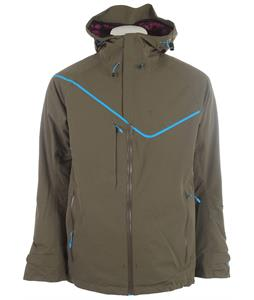 Volkl Ultar Peak Ski Jacket Olive Unplugged