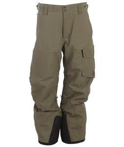 Volkl Ultar Peak Ski Pants Olive Wax