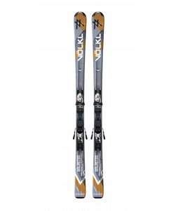 Volkl Unlimited Ac Skis w/ Motion TT 10.0 D Bindings Sil/Blk
