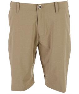 Volcom Fruckn Drip-Dry Shorts Dark Khaki