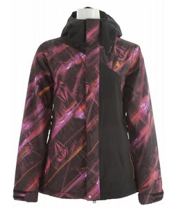 Volcom Clove Insulated Snowboard Jacket Absent Stripe