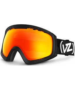 Vonzipper Feenom Goggles Satin Black/Fire Chrome Lens